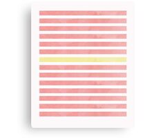 Red Bars Canvas Print