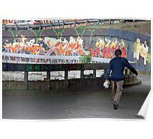 Art On The Run Poster