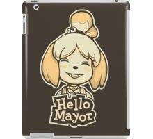 Hello Mayor iPad Case/Skin