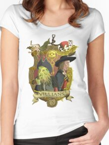 Villains- Pirates of The Caribbean Women's Fitted Scoop T-Shirt