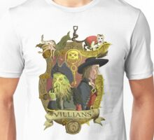 Villains- Pirates of The Caribbean Unisex T-Shirt