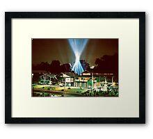 Search Lights Framed Print
