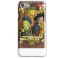 Villains- Pirates of The Caribbean iPhone Case/Skin