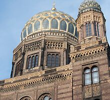 Exterior of the New Synagogue, Berlin by photoeverywhere