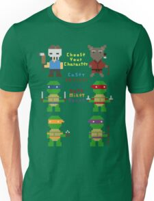 teenage mutant pixel turtles Unisex T-Shirt