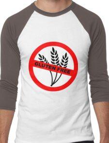 Gluten Free Men's Baseball ¾ T-Shirt