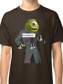 Mink Wazowski (text) Classic T-Shirt