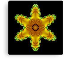 Yellow Star Canvas Print
