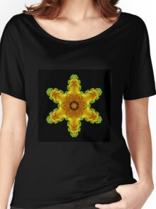 Yellow Star Women's Relaxed Fit T-Shirt