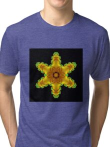 Yellow Star Tri-blend T-Shirt