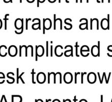 Report ASAP Pronto LOL Sticker