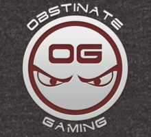 Obstinate Gaming (White Text) by tenshar