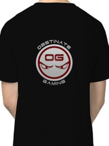 Obstinate Gaming (White Text) Classic T-Shirt