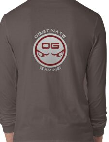 Obstinate Gaming (White Text) Long Sleeve T-Shirt