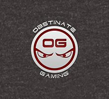 Obstinate Gaming (White Text) Zipped Hoodie