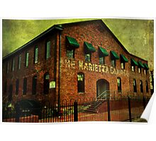 The Marietta Chair Company Poster