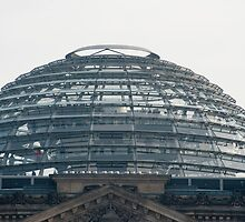 Dome of the Reichstag building, Berlin by photoeverywhere