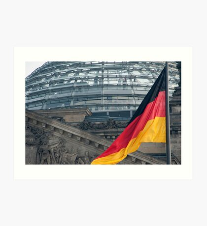 The German National flag Art Print