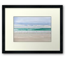 The Perfect Wave Framed Print