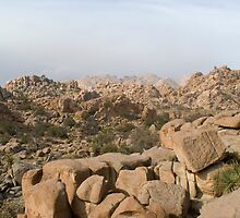 rocky desert mountains by photoeverywhere