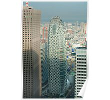Shinjuku Office Buildings Poster