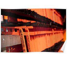 miniature torii gates Poster