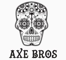 Axe Bros Skull by DashEightyEight