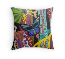 Fabulous Fungi detail1 Throw Pillow