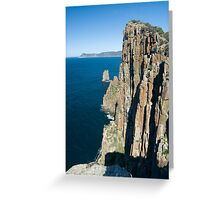 cape hauy cliff face Greeting Card