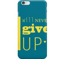 Inspirational text iPhone Case/Skin