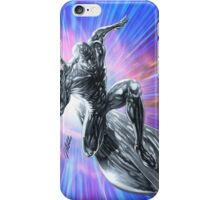 Space Surfin' by Al Rio iPhone Case/Skin