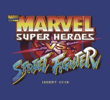 Marvel Super Heroes V.S Street Fighter (Arcade) Title Screen by AvalancheJared