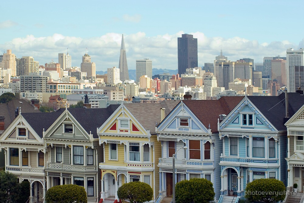 san francisco houses by photoeverywhere