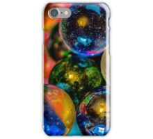 Playing with Marbles iPhone Case/Skin