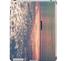 Altocumulous Clouds at Araha Beach iPad Case/Skin