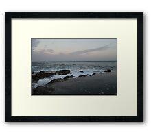 A Beach in Malta Framed Print