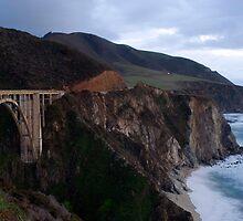 bixby creek bridge by photoeverywhere