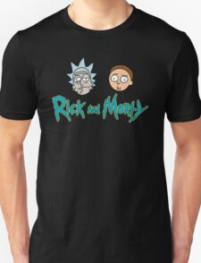 Rick and Morty face Unisex T-Shirt