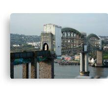 royal albert bridge Canvas Print