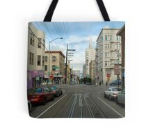 cablecar intersection Tote Bag