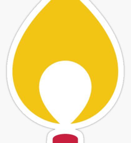 CMN Flame Sticker