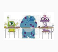 Student Mike, Sully, & Randall by justcallmebec