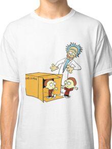 Rick and Morty Calvin and Hobbes mashup Classic T-Shirt