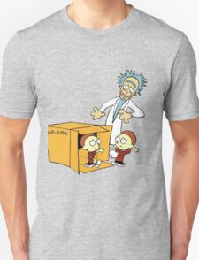 Rick and Morty Calvin and Hobbes mashup T-Shirt