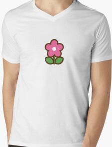 Flower pink - Day 5 (Thursday) 5of7 designs Mens V-Neck T-Shirt