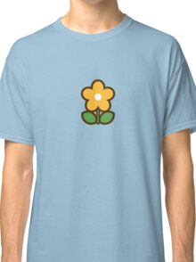 Flower Off/Yellow - Day 7 (Sunday) 7of7 designs Classic T-Shirt