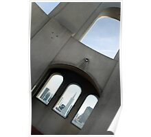 Coit Tower Windows Poster