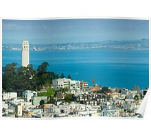 Coit Tower pioneer park Poster