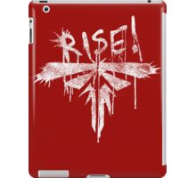 Fireflies - Rise! White Version iPad Case/Skin