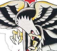 Wings & Dagger Sticker